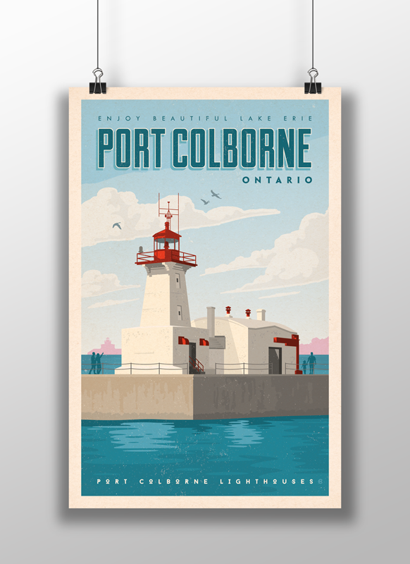 Port Colborne Lighthouse Poster