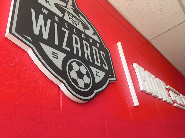 Welland Wizards Team Room