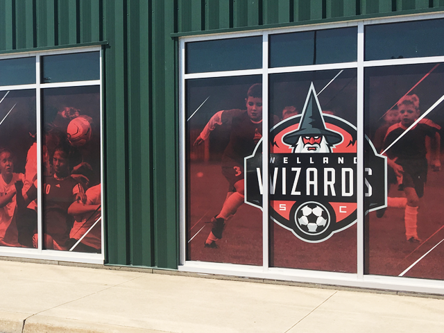 Welland Wizards Exterior Signage
